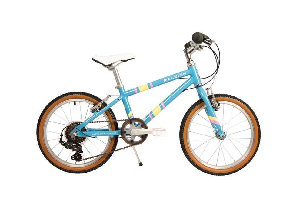 2020 Raleigh Pop 18 Inch Kids Bike In Blue